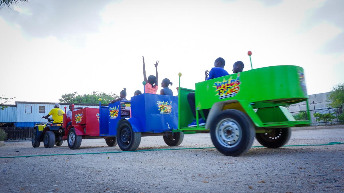 Trackless Wiley ATV Train