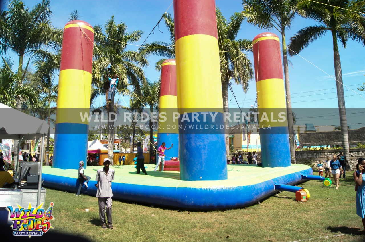 Bungee Trampoline Inflatable