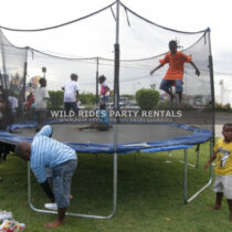 Wild Rides Party Rentals is a Jamaican party rental company supplying rides of all sizes/capacity such as bounce-a-bouts, slides, merry-go-rounds, trampolines etc.