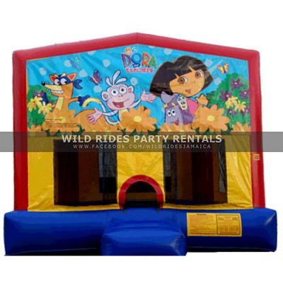 Dora the Explorer Inflatable Bouncer Castle