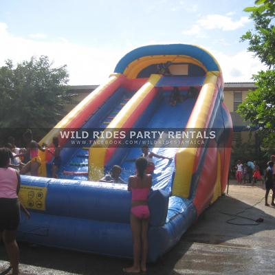 Sun Fun Multi-Colour Water Slide