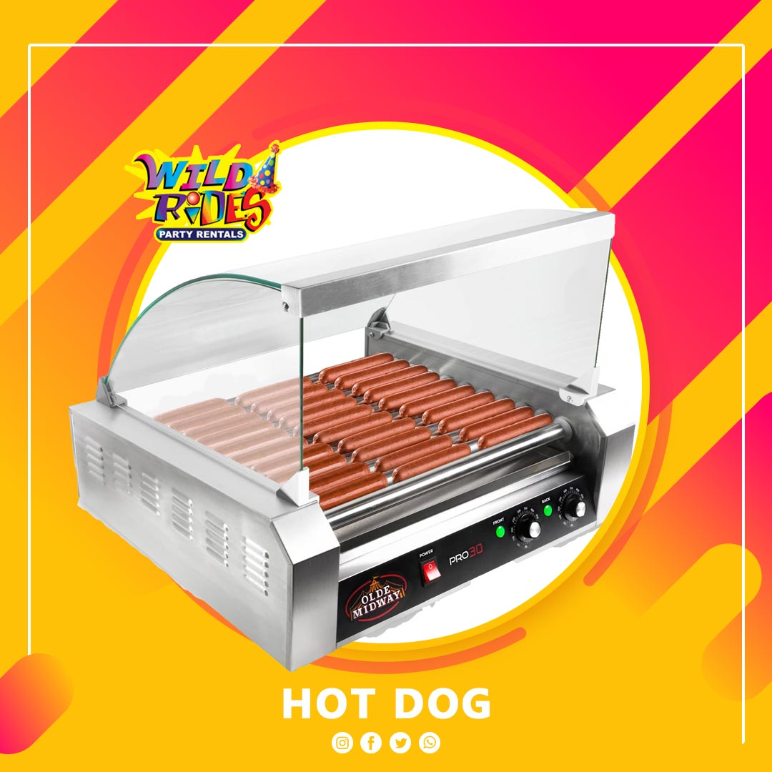 Hot Dog Machine | Wild Rides Party Rentals