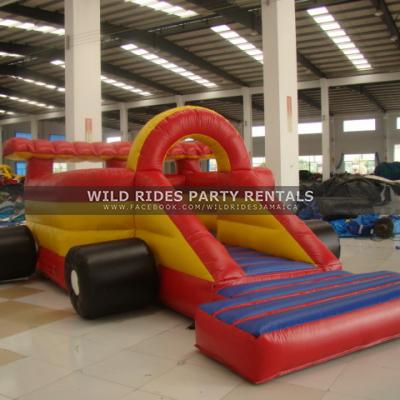 Race Car Inflatable Bouncer
