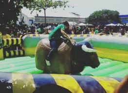 look at this young woman conquer our mechanical bull partyrental mechanicalri 263x190 - Look at this young woman conquer our mechanical bull. #partyrental #mechanicalri...