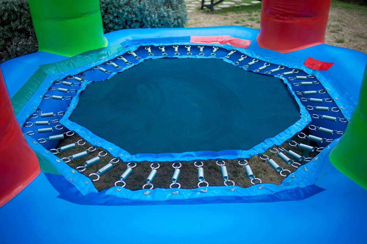 Bungee Trampoline Inflatable (Toddler)