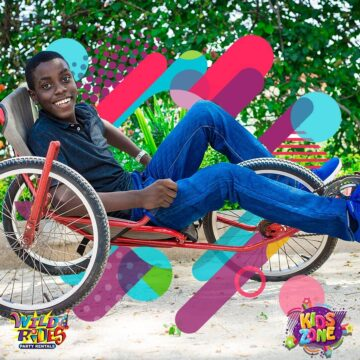 His smile says it all... Do you agree Wild Rides 360x360 - His smile says it all... Do you agree?  Wild Rides Party Rentals #KidsZone is th...