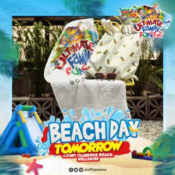 Pack your beach bag tomorrow is UFFTBeachDay @ufftjamaica Sunday July 360x360 - Pack your beach bag, tomorrow is #UFFTBeachDay! @ufftjamaica  Sunday July 2nd, F...