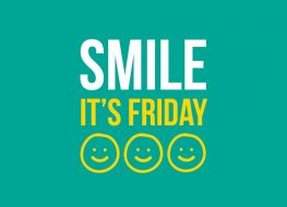 Smile Its Friday What are your weekend plans tgif friday 263x190 - Smile, Its Friday! What are your weekend plans? #tgif #friday #friyay #weekend...