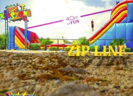 Zip Line anyone Turn up the summer and done with 263x190 - Zip Line anyone? Turn up the summer and done with 40ft of FUN!  For more informa...