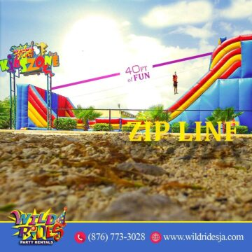 Zip Line anyone Turn up the summer and done with 360x360 - Zip Line anyone? Turn up the summer and done with 40ft of FUN!  For more informa...