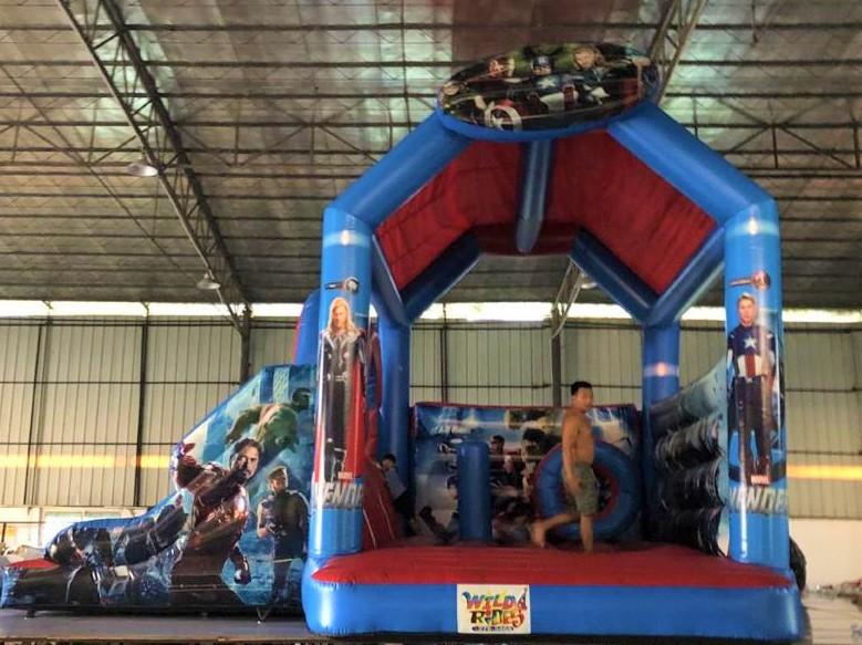 Avengers Bouncer  w/ Dry Slide