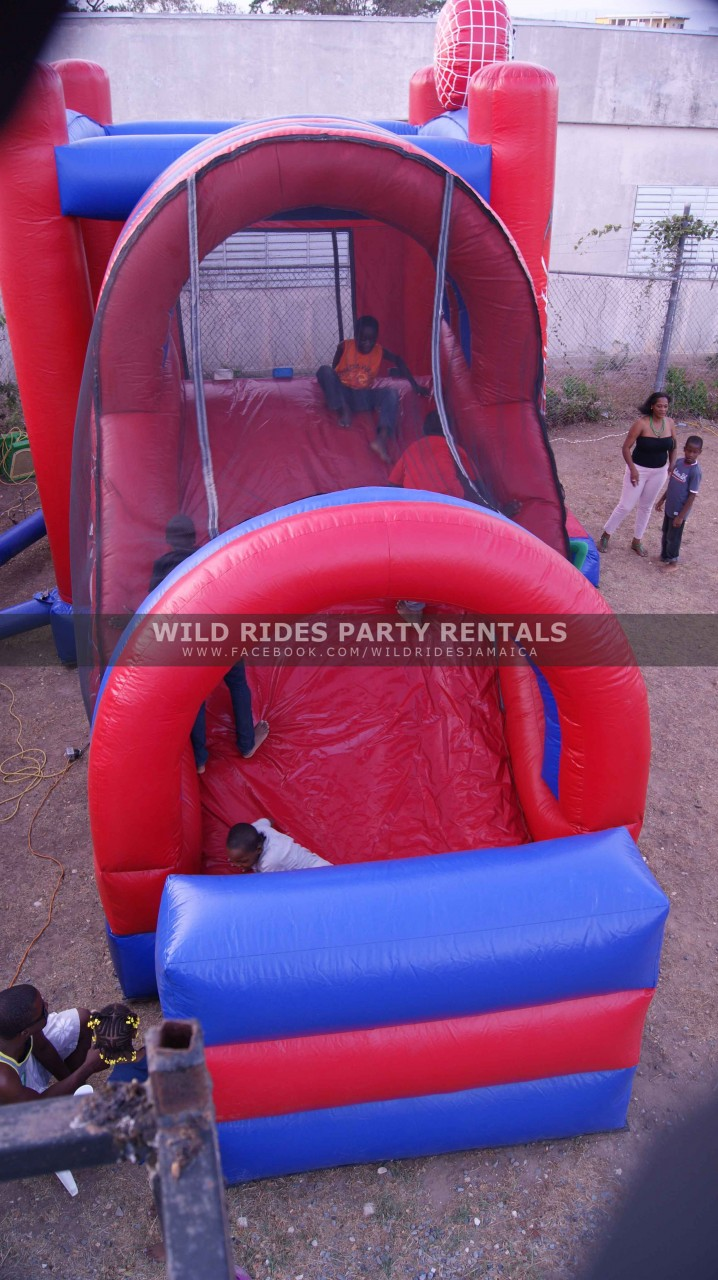 Spiderman Bouncer w/Slide