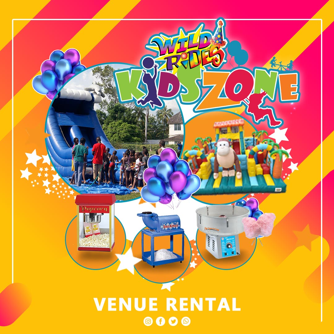 Wild Rides Party Rentals ≡ Product 04 - Venue Rental
