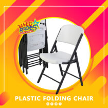 WR - Plastic Folding Chair