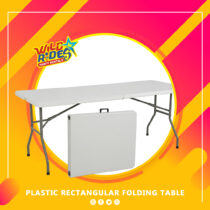 WR - Plastic Rectangular Folding Table