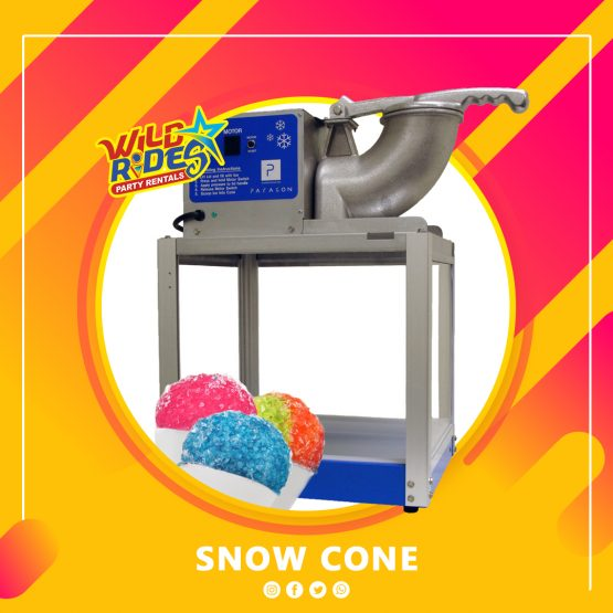 Snow Cone Machine & Supply (Table Top)