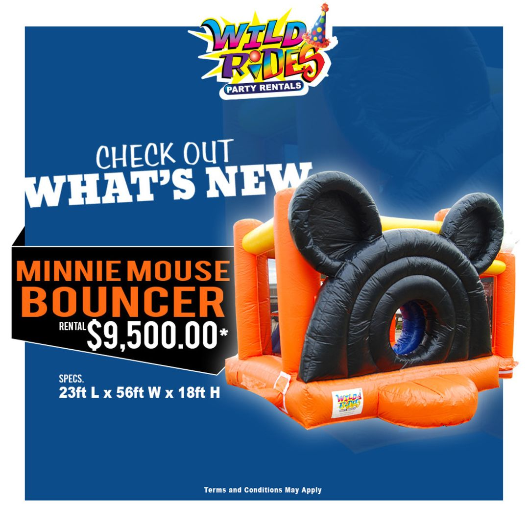 Check out what's new at Wild Rides....... #WildRides #PartyRentals #Characters #