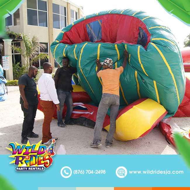 Could you guess this awesome inflatable, here is a clue: seats six kids at the s