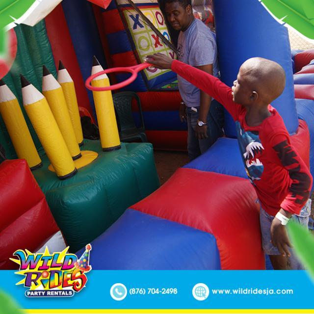 Do you remember the most fun you ever had with a inflatable ride bouncer or even