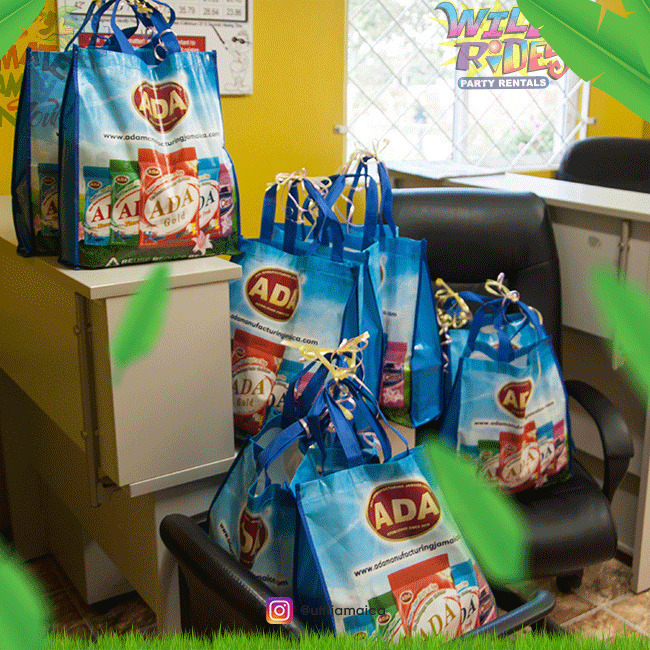 Giveaways courtesy of ADA Manufacturing Jamaica Limited A very lovely - Giveaways courtesy of ADA Manufacturing Jamaica Limited; A very lovely gift bag