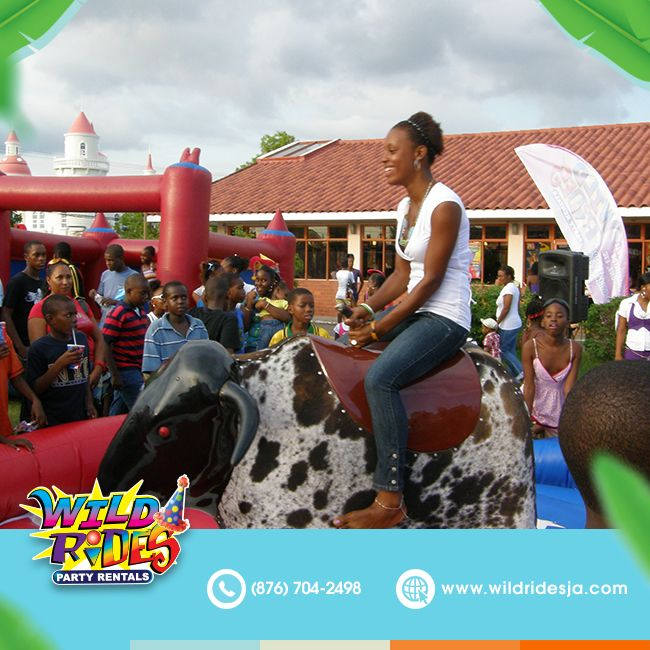 Its all fun and games until your friend picks you - It's all fun and games, until your friend picks you to ride the bull next.  #wil