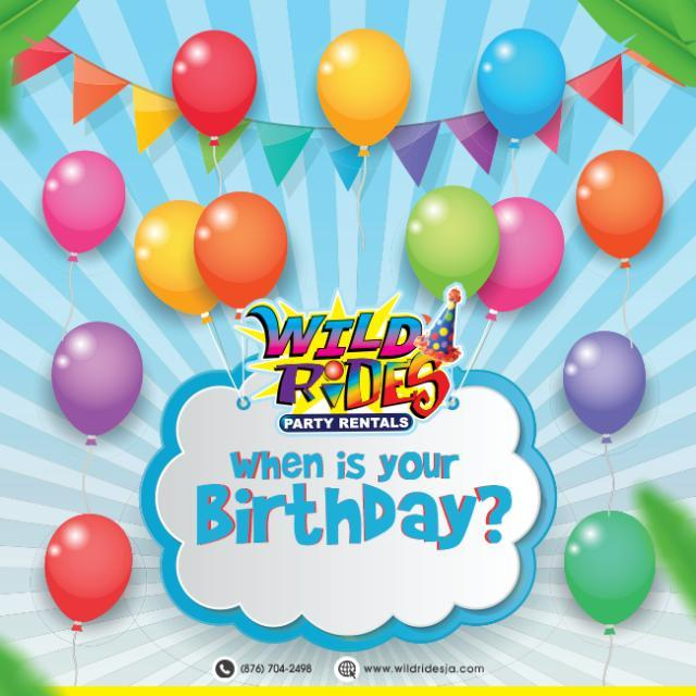 Share your a birthday with us, many chances to earn extra on your next rental. W