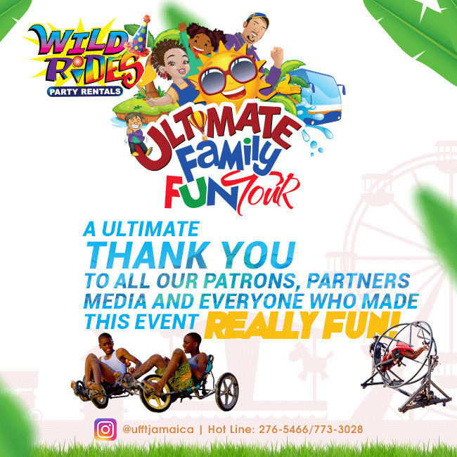 Ultimate Family Fun Tour would like to thank our patrons - Ultimate Family Fun Tour would like to thank our patrons, partners and media. Se