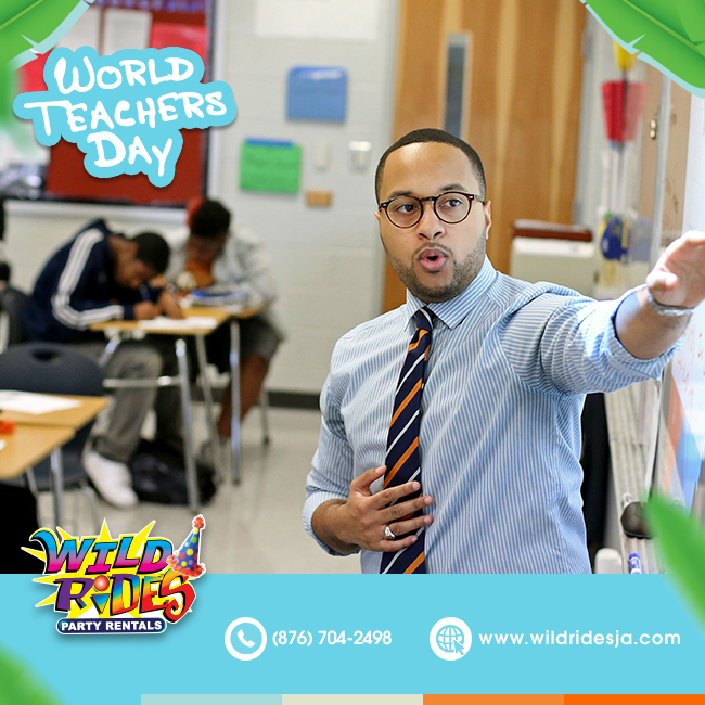 World Teachers' Day aims to raise awareness of the importance of the role played