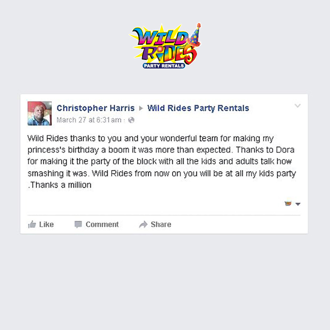 We would like to take the time out to highlight our valued customer Christopher