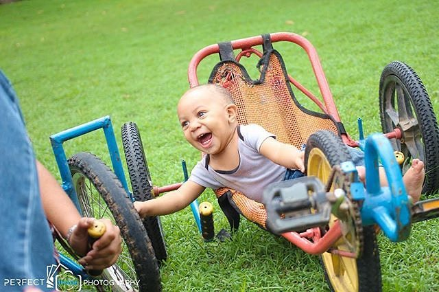 A smile is more than a thousand words.  #babysmile #funtrikes  Photo Credit: @mr