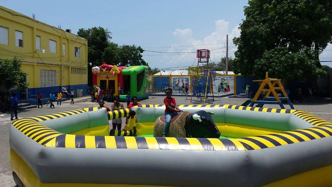 Do you see #angrybirds? You name it,  we have it.  Mechanical bull,  ferris whee