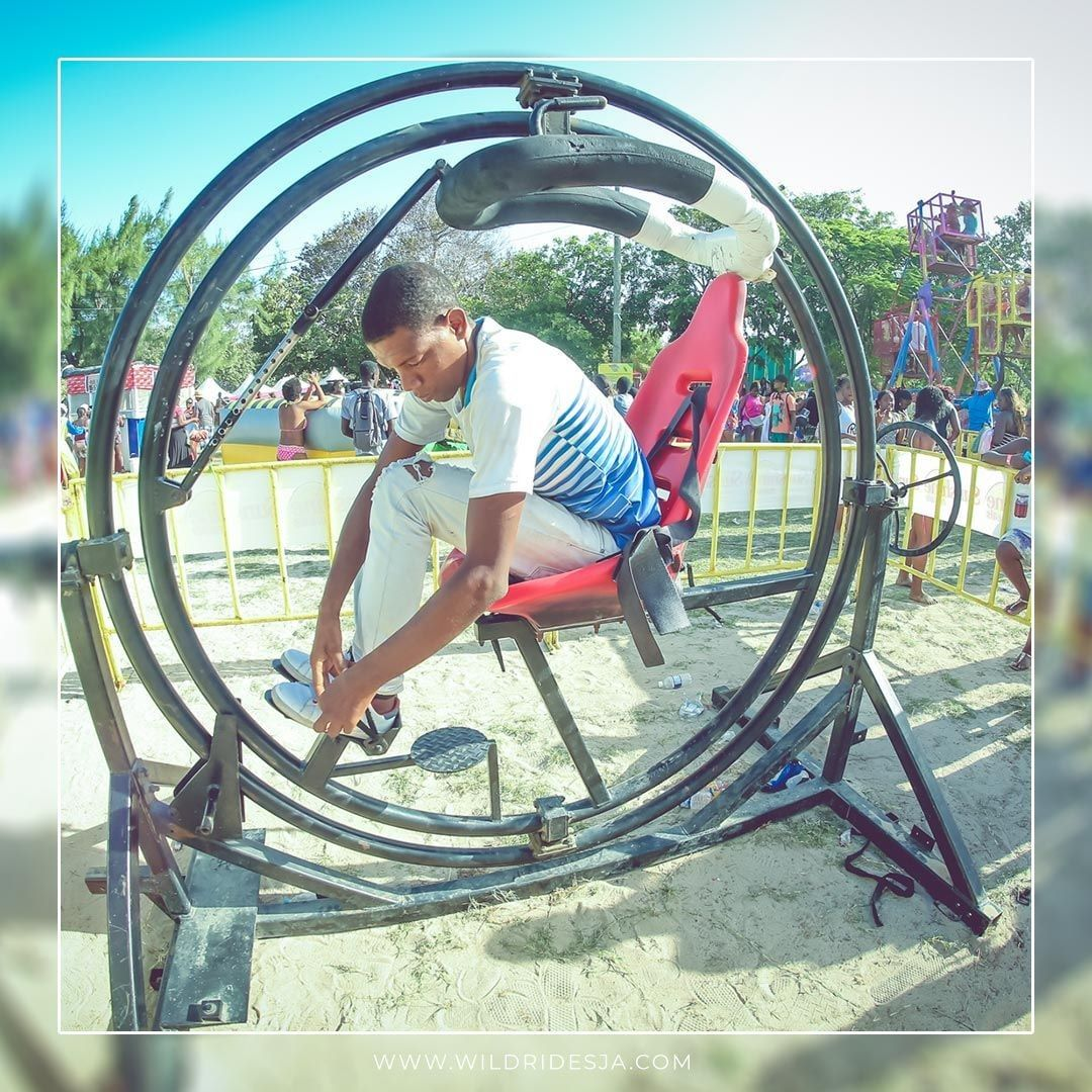 Hold on tight and get ready for the ride of your life! The Human Gyroscope/Orbit