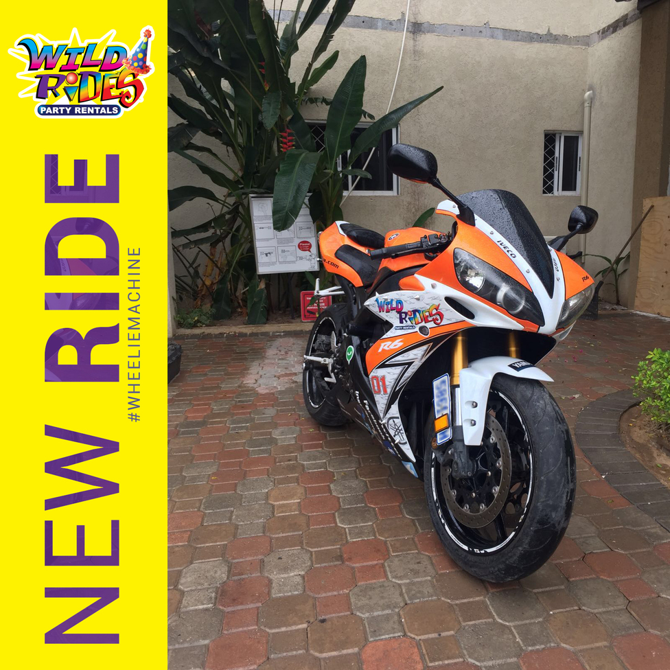 New to Wild Rides Party Rentals. a #epic ride for the grown ups. #WHEELIEMACHINE