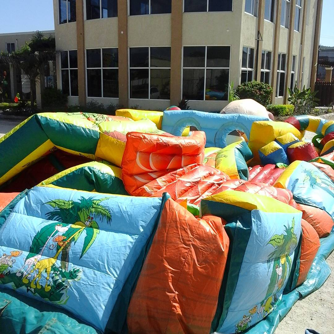 Rise of the king of the jungle. #inflatable #jungleobstacle