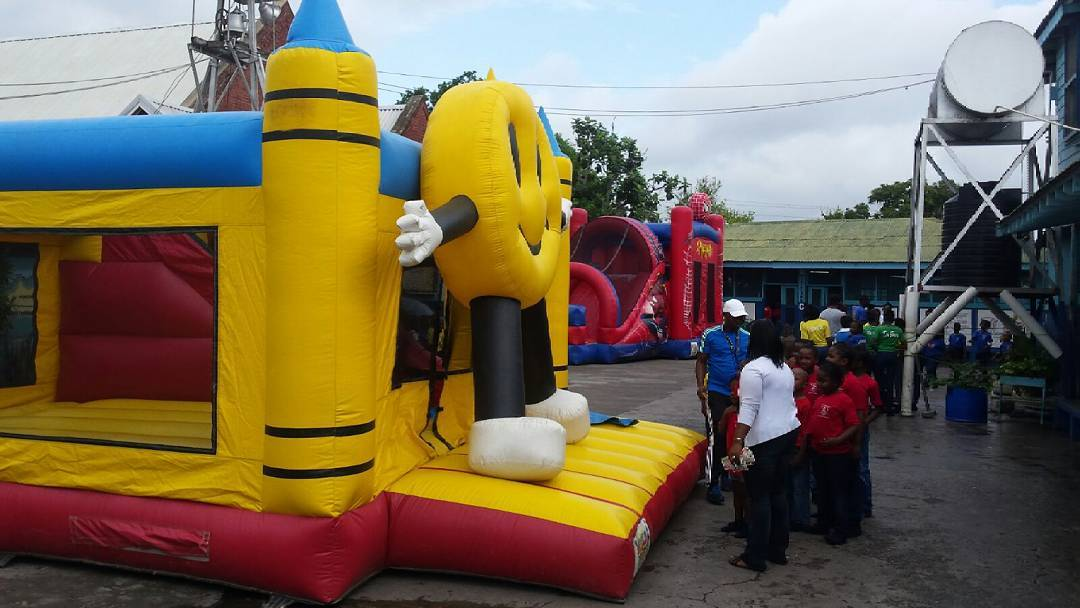 St. Catherine Primary,  are you ready for none stop hours of #fun  #partyrentals