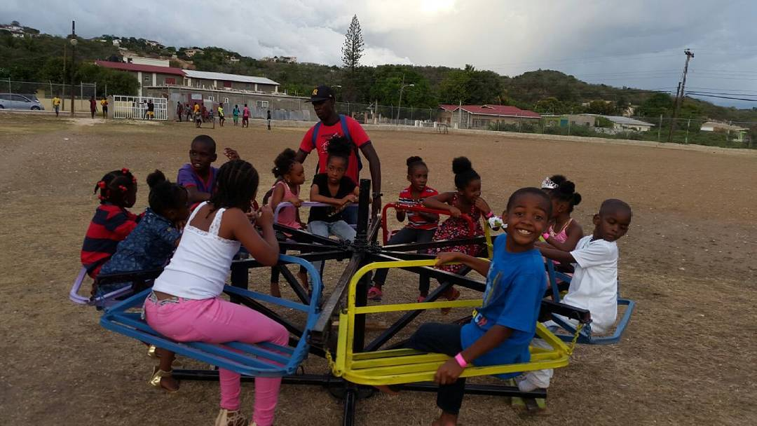 Super excited to on #wildridesja carousel.  #thekidinme