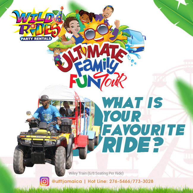 Count down the days to ‪#‎ufftjamaica‬, what is your favorite ride to be feature